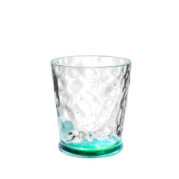 Ellenburg Kaleidoscope 13.3 oz. Plastic Cocktail Glasses (Set of 6) by Bayou Breeze