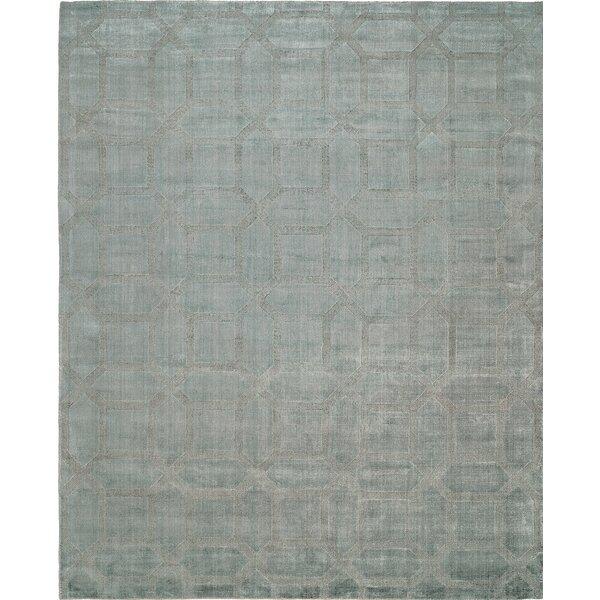 Handwoven Gray Area Rug