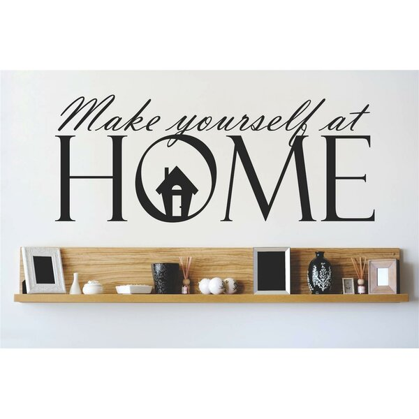 Make Yourself At Home Wall Decal by Design With Vinyl