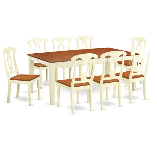 Pilger Extendable Solid Wood Dining Set by August Grove August Grove