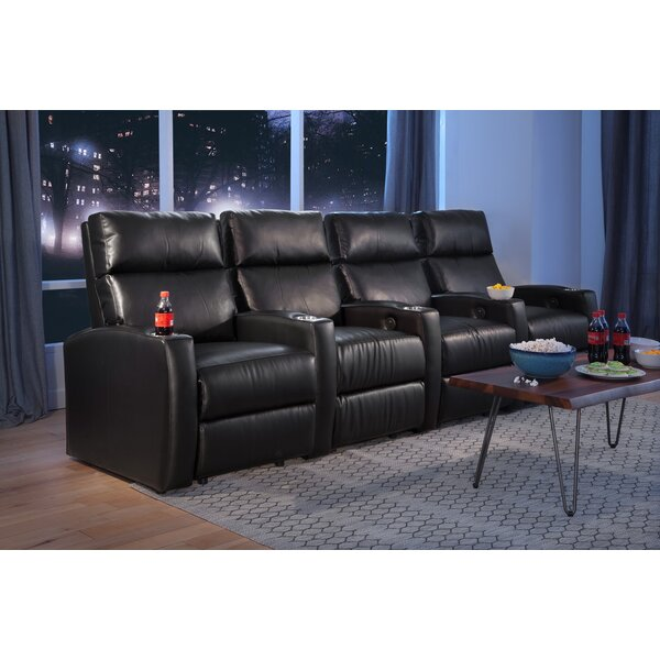 Ovations Home Theater Sofa (Row Of 3) By Latitude Run