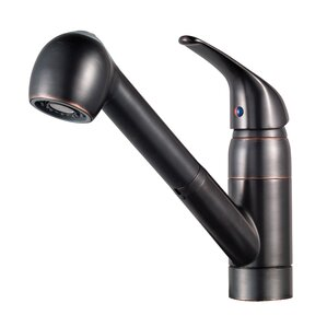 Black Kitchen Faucets With Sprayer black kitchen faucets you'll love | wayfair