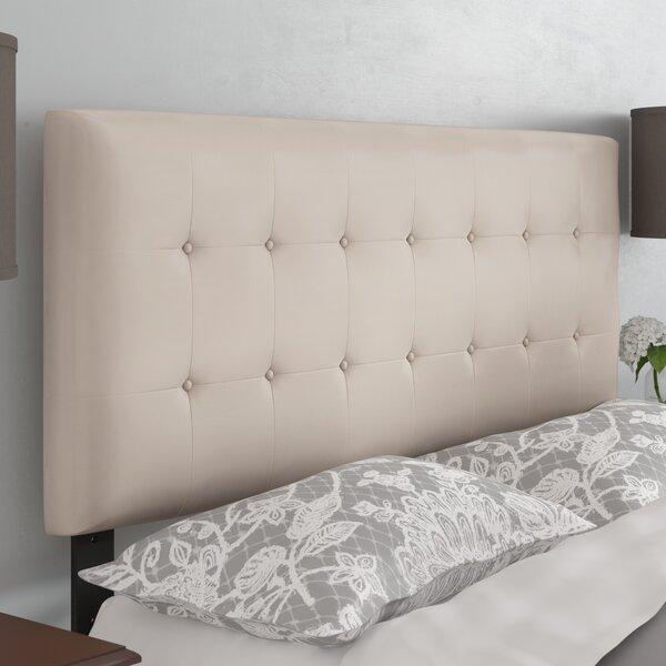 Frary Upholstered Panel Headboard by Charlton Home