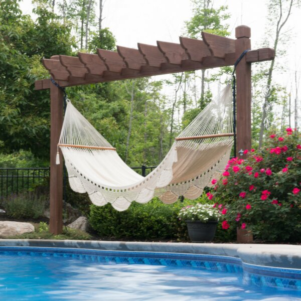 Oxfordshire Handwoven Double Tree Hammock by Freeport Park Freeport Park