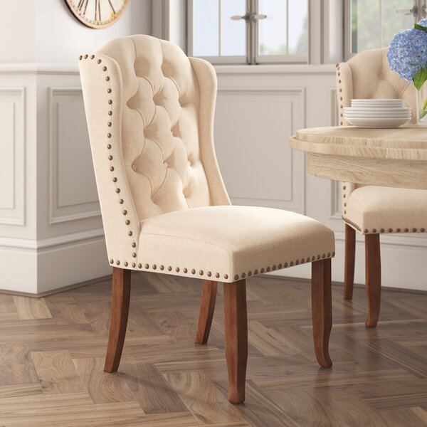 Burlingame Upholstered Dining Chair By Ophelia & Co.
