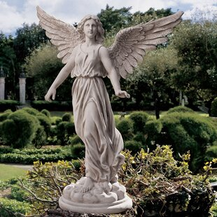 Angel Of Patience Statue. By Design Toscano