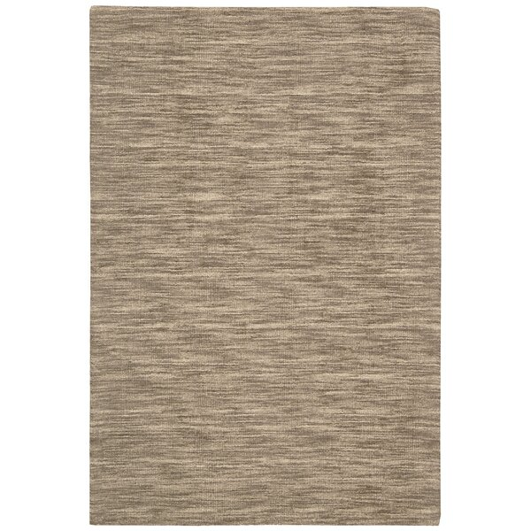 Grand Suite Ottoman Hand-Woven Stone Area Rug by Waverly