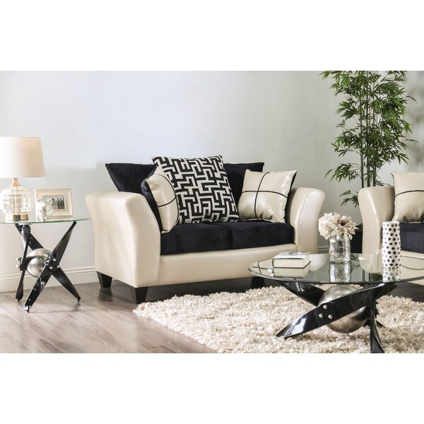 Fidler Loveseat by Everly Quinn