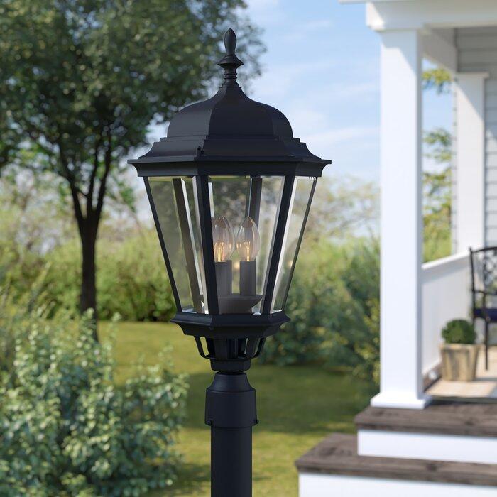Listermann Cast Outdoor 3 Light Lantern Head