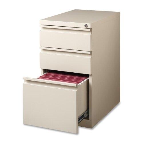 15 W x 22.9 D 3-Drawer Mobile Pedestal File by Lorell
