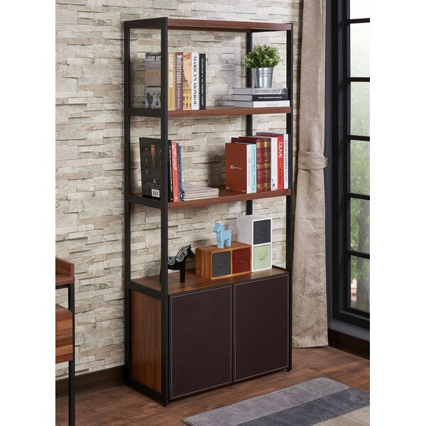 Brumbelow Rectangular Etagere Bookcase by Union Rustic Union Rustic