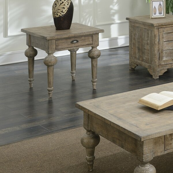Clintwood End Table By Three Posts
