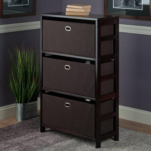 Gillard Storage Shelf Standard Bookcase By Red Barrel Studio