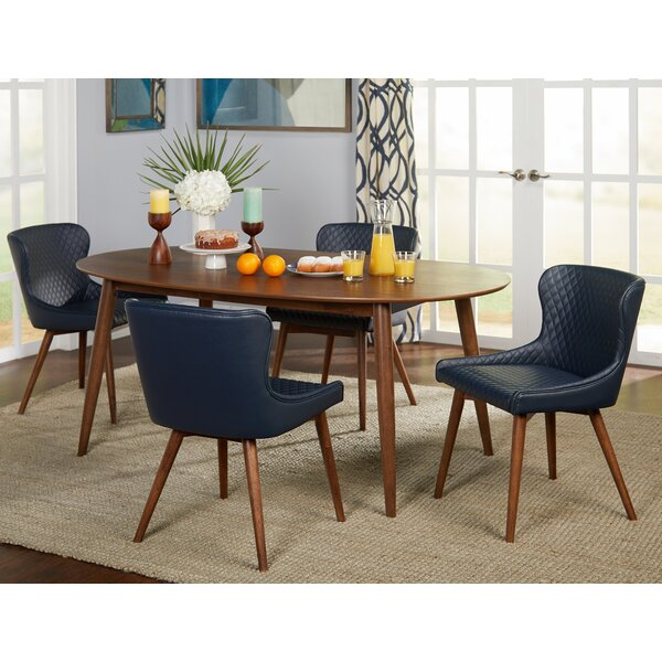 West Line 5 Piece Dining Set by George Oliver