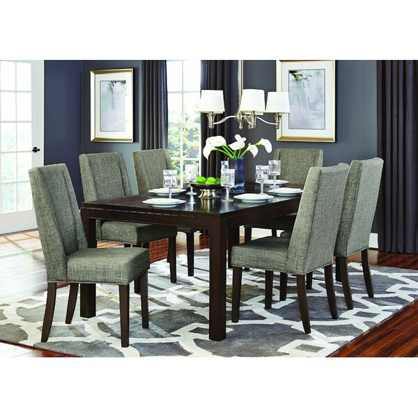 Hagberg 7 Piece Extendable Dining Set by Brayden Studio