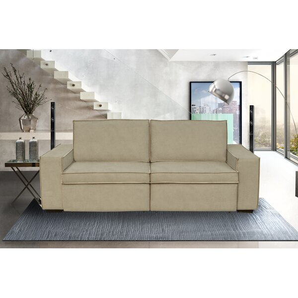 Stay On Trend This Okoboji Reclining Loveseat by Latitude Run by Latitude Run