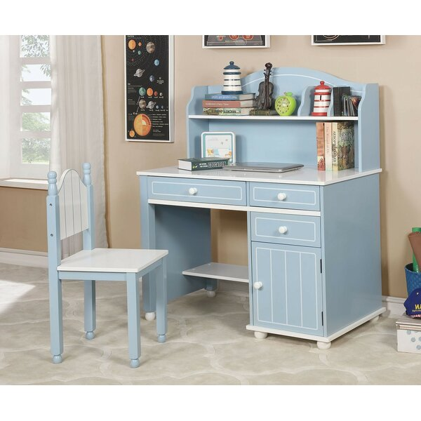 Marano 42 W Writing Desk with Chair by Andrew Home Studio