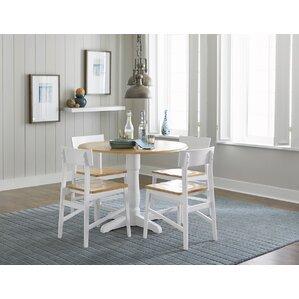 finley round 5 piece dining set