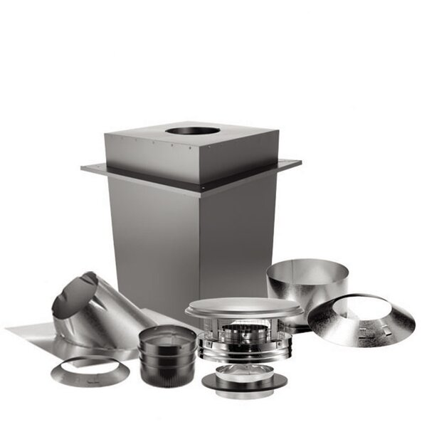 Duravent 7 Piece Steel Venting Kit by United States Stove Company