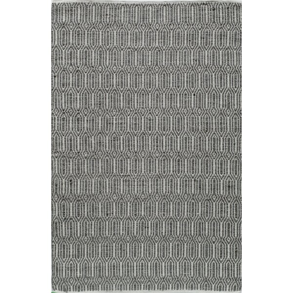Hand-Woven Charcoal Area Rug by The Conestoga Trading Co.