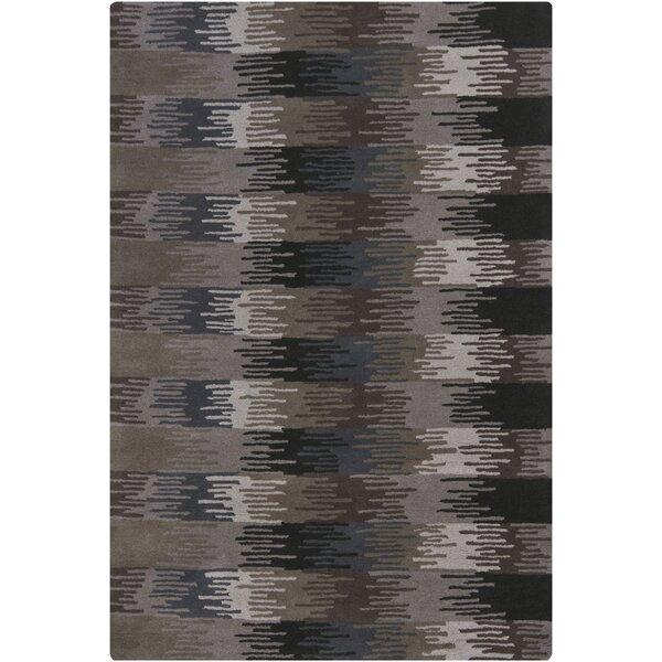Gaines Brown/Black Area Rug by Corrigan Studio