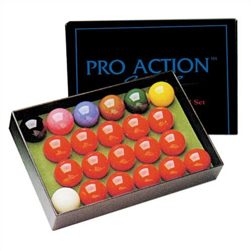 Pro Action Snooker Ball Set by Mr. Billiard