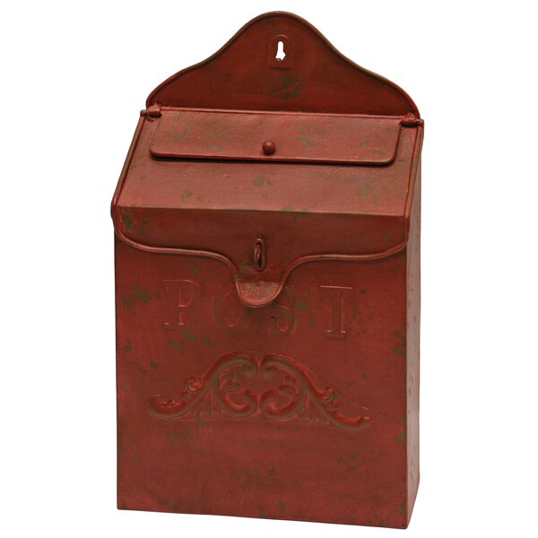Metal Wall Mounted Mailbox by Great Finds