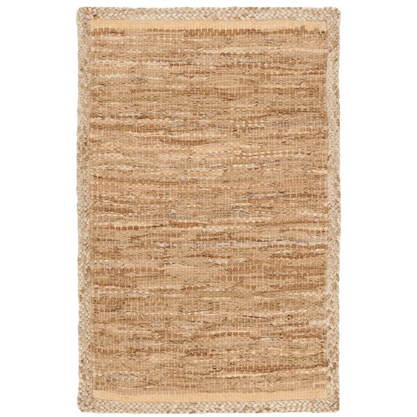 Church Hand-Woven Natural Area Rug by Highland Dunes