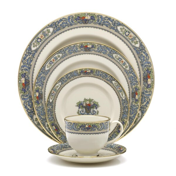 Autumn Bone China 5 Piece Place Setting, Service for 1 by Lenox