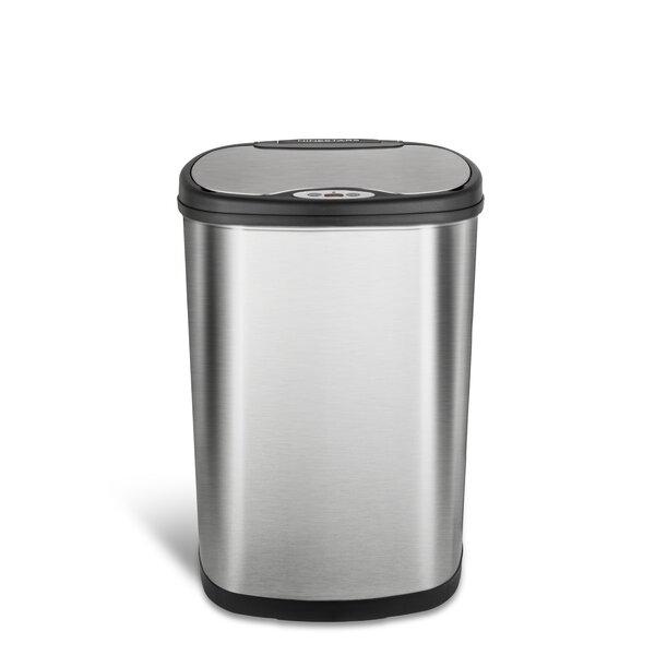 Nine Stars 13.2 Gallon Motion Sensor Trash Can by Nine Stars