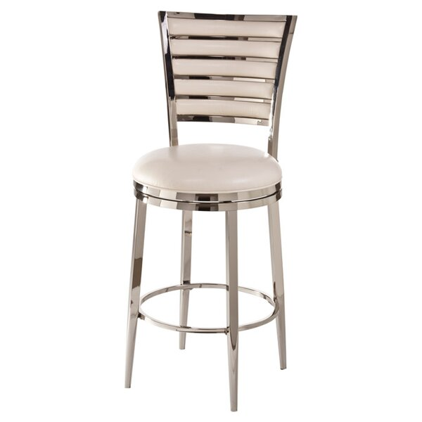 Rouen 30 Swivel Bar Stool with Cushion by Hillsdale Furniture