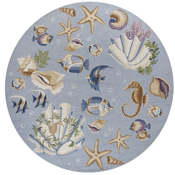 Labrosse Blue Nautical Novelty Rug by August Grove