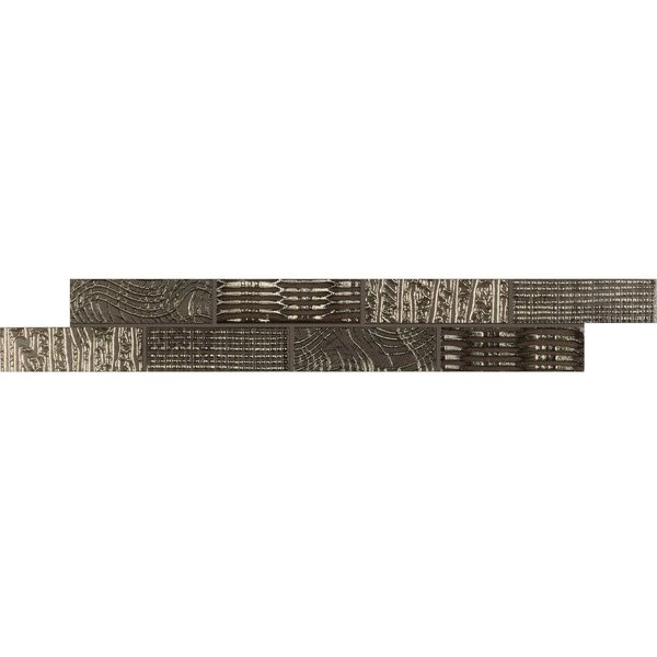 Refinery 1 x 3 Porcelain Mosaic Tile in Shimmer by PIXL