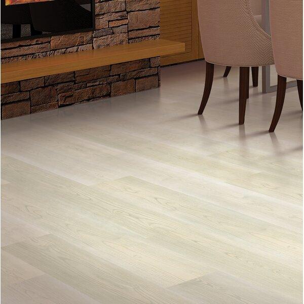 7.5 x 47.25 x 8mm Walnut Laminate Flooring in Fresh Cream by Mohawk Flooring