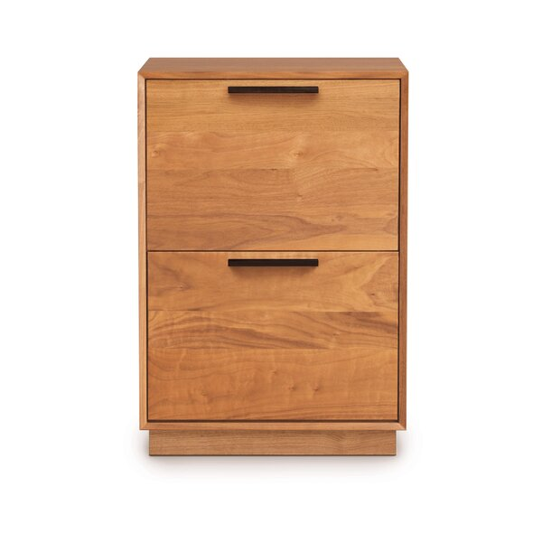 Linear Office 2-Drawer Vertical Filing Cabinet