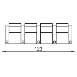 Executive Home Theater Row Seating (Row Of 4) By Bass