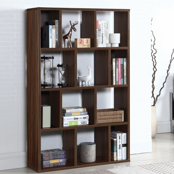 Hornyak Wooden Cube Unit Bookcase by Winston Porter