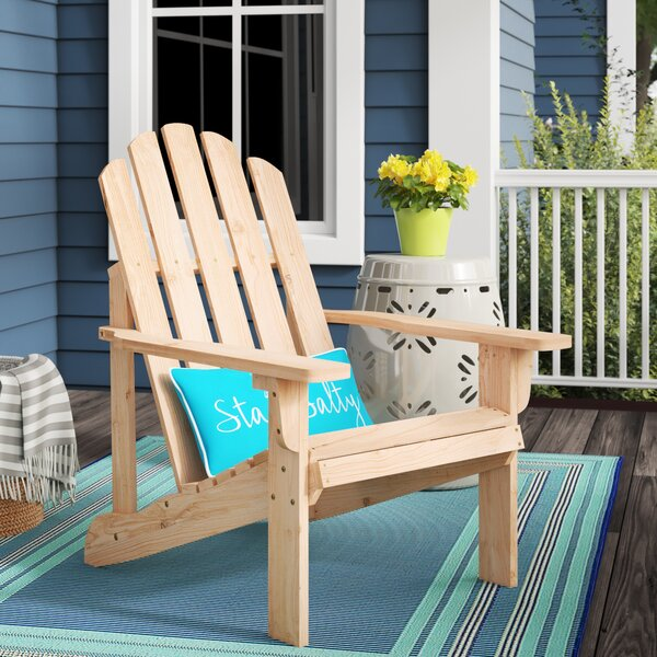 Janes Solid Wood Adirondack Chair by Breakwater Bay Breakwater Bay