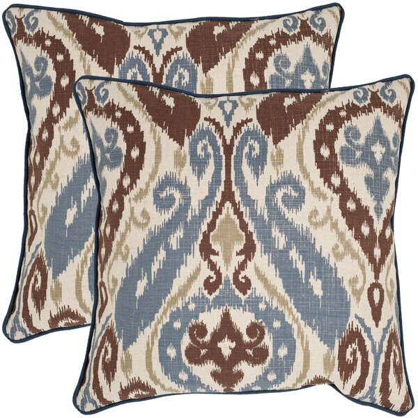 Charlie Throw Pillow (Set of 2) by Safavieh