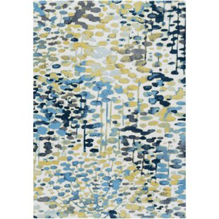 Ladson Yellow Blue Area Rug