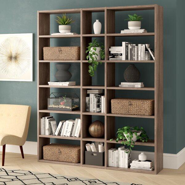 Ottley Geometric Bookcase By Brayden Studio®