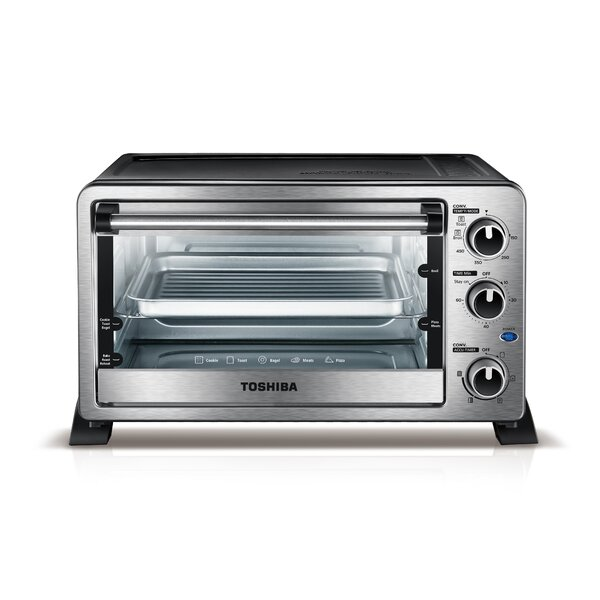 0.88 Cu. Ft. Convection Toaster Oven by Toshiba