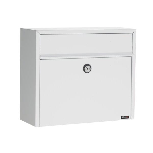 Allux Locking Wall Mounted Mailbox by Qualarc