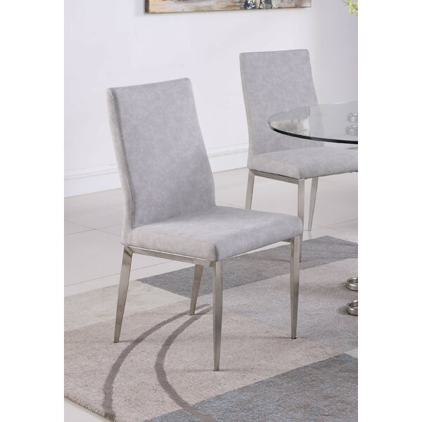 Liberty Upholstered Dining Chair (Set of 2) by Orren Ellis