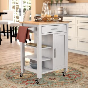 Newfane Kitchen Cart by Three Posts