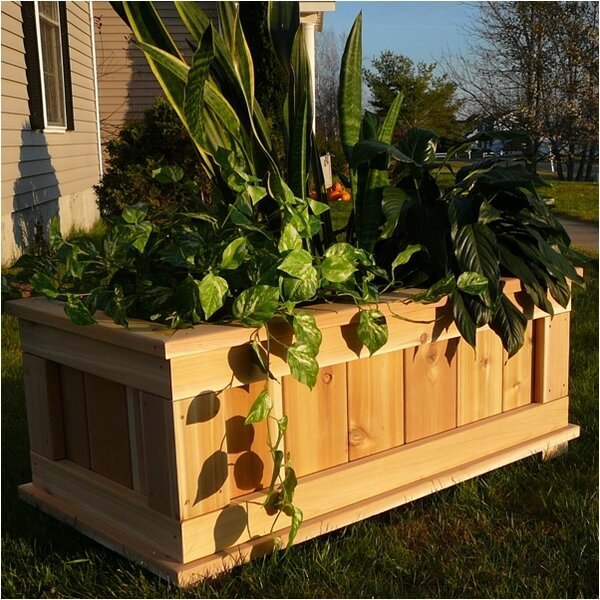 Cedar Planter Box by Infinite Cedar