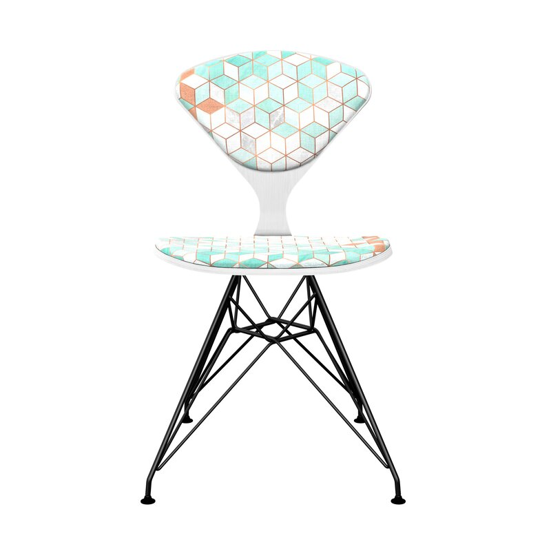 Coral Upholstered Dining Chair
