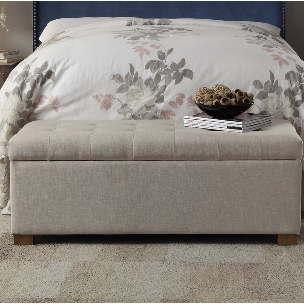 Ravenwood Upholstered Storage Bench by Andover Mil