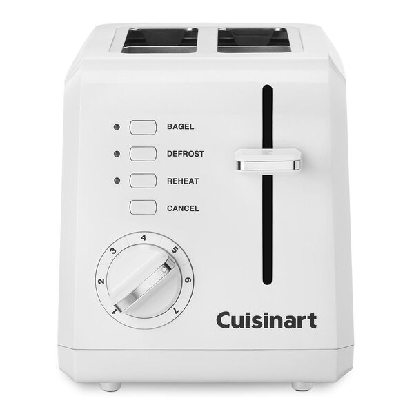 2 Slice Compact Toaster By Cuisinart.