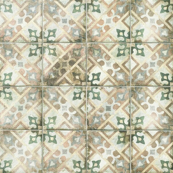 Relic Décor 8.75 x 8.75 Porcelain Field Tile in Laterza by EliteTile